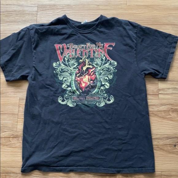Very Rare !!!! Original  Vintage 90s Bullet For My Valentine T Shirt